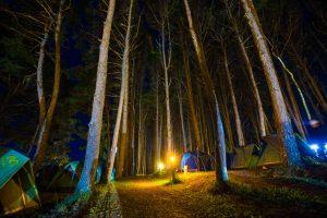 se préparer pour faire du camping